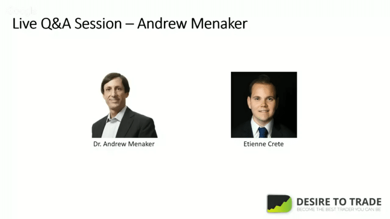 Live session with Andrew Menaker