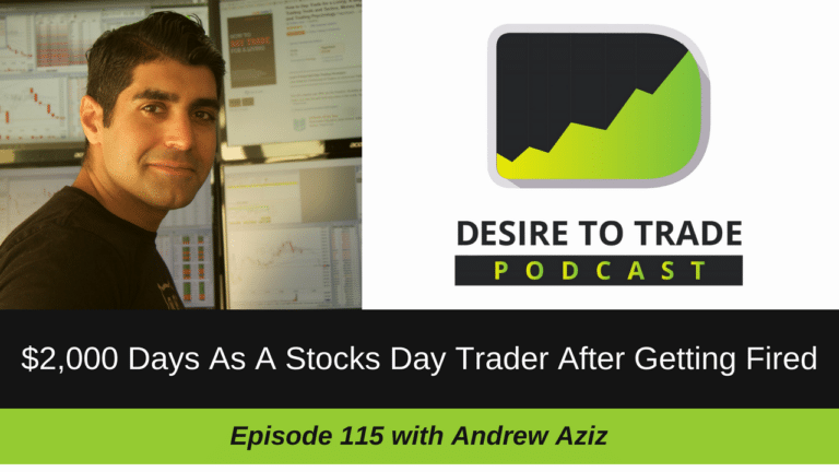 115- $2,000 Days As A Stocks Day Trader After Getting Fired - Andrew Aziz