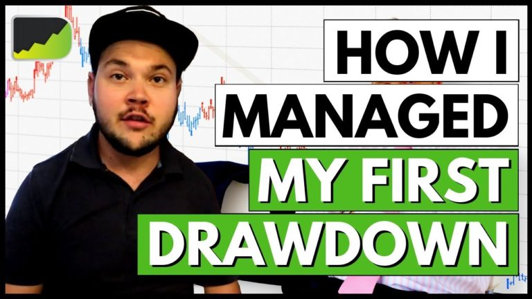 My First DRAWDOWN Trading the Forex Market